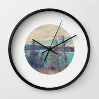 serenity Wall Clocks featuring Serenity by yuvalaltman