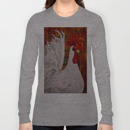 I Know I am Lovely - White Rooster Long Sleeve T-shirt