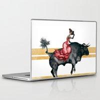 spain Laptop & iPad Skins featuring Spain by Andrea Minoja