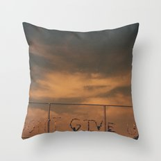 Ever. Throw Pillow