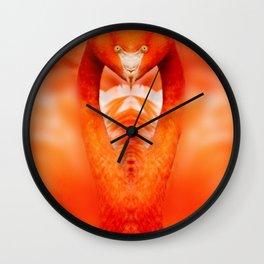 Cobra In Striking Position Wall Clock