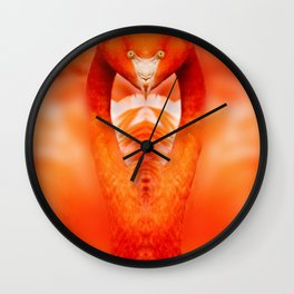 Cobra In Striking Position Wall Clock
