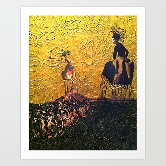 Rhizophora Art Print