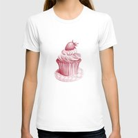 cupcake T-shirts featuring Cupcake by De Assuncao création