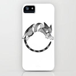 Cat Loop iPhone Case