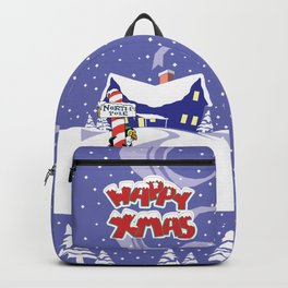Christmas in North Pole Backpack