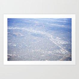 GEOgraphy VIII Art Print