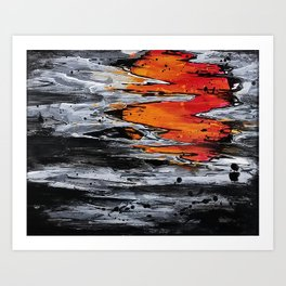 Damascus Sunset Art Print