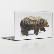 Arctic Grizzly Bear Laptop & iPad Skin