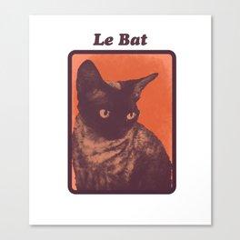 Le Bat  Canvas Print