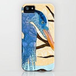 Egret Sun iPhone Case