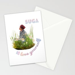 BTS Love Yourself Answer Design - Suga Stationery Cards