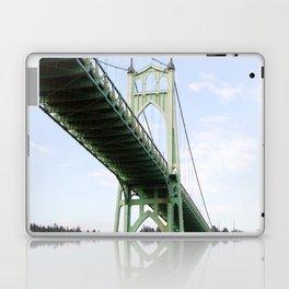 St John's Bridge Portland Laptop & iPad Skin