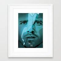 jesse pinkman Framed Art Prints featuring Jesse Pinkman by Guillaume Vasseur