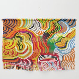 colored flow Wall Hanging
