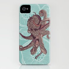 Octopus Bloom Slim Case iPhone (4, 4s)