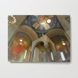 Basilica of the National Shrine of the Immaculate Conception Metal Print
