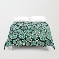 Blooming Trees Duvet Cover