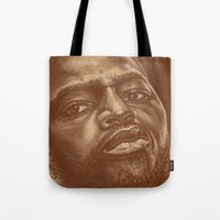 chad wys Tote Bags featuring round 8..chad dawson by noblackcolor