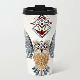 owl winter Travel Mug