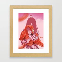 orquidea Framed Art Print