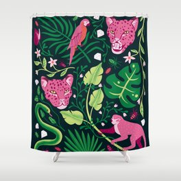 Jungle Vibes Shower Curtain