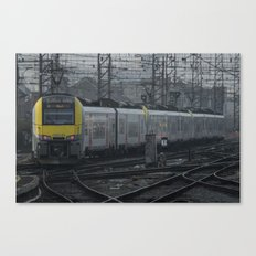 Brussels departure Canvas Print
