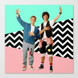 Bill and Ted Canvas Print