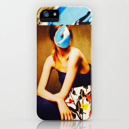 drowned mind iPhone Case
