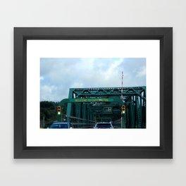 Welcome to Cape Breton Framed Art Print