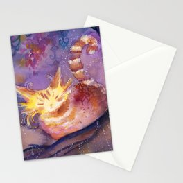 Glow in the Night Forest Stationery Cards