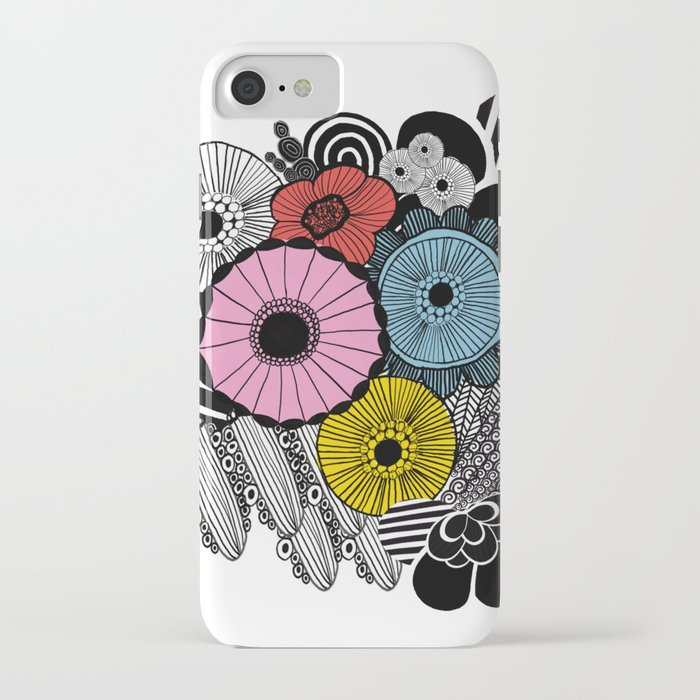 info for 412bb 14ab0 Heart in Flowers, inspired by Marimekko iPhone Case