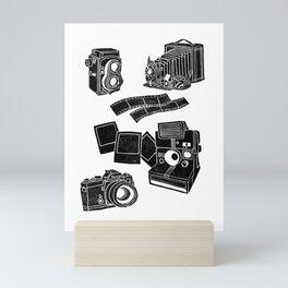 Weapons Of Mass creation - Photography (block print) Mini Art Print