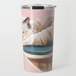 Fiona the Cat Travel Mug