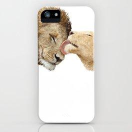 lions iPhone Case