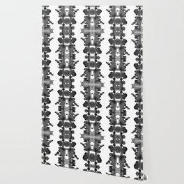 Black Ink Blots Wallpaper