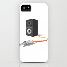 unplug the glance iPhone Case
