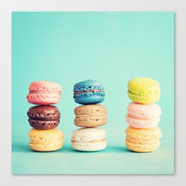 The Three Yummy Towers Canvas Print