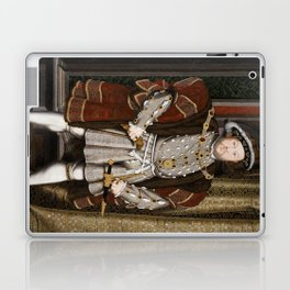 Portrait of Henry VIII - After Hans Holbien the Younger Laptop & iPad Skin