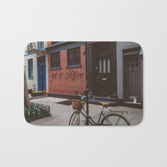 New York's West Village Bath Mat