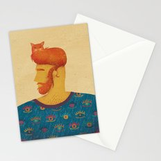 Cats is the solution Stationery Cards