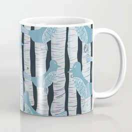 For the Birds and Birch Trees Coffee Mug