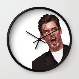 Jim Carrey Wall Clock