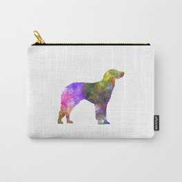 German Longhaired Pointer in watercolor Carry-All Pouch