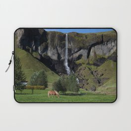 Horse in Iceland Laptop Sleeve