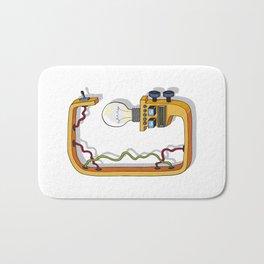 MACHINE LETTERS - G Bath Mat