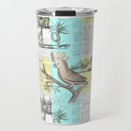 Tropical Dream Cockatoo Travel Mug