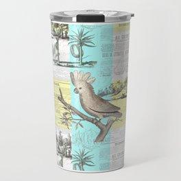 Tropical Dream Cockatoo Travel Mug