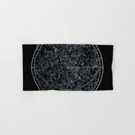 Northern Hemisphere Constellations White Blue Hand & Bath Towel