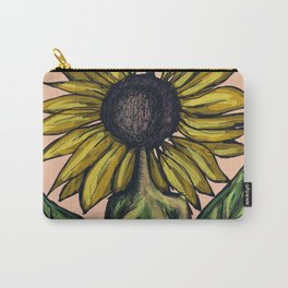 Sunflower Whisperer Carry-All Pouch